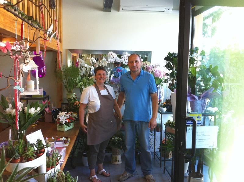 ilmadeinbergamo » il giardino fiorito, il negozio che fa sbocciare ... - Idee Arredamento Negozio Fiori
